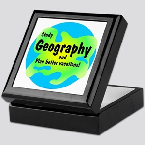 Geography Keepsake Box